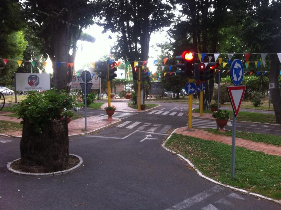 Il Tracciato del Parco Scuola