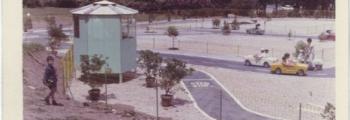 Prima foto al tracciato del parco